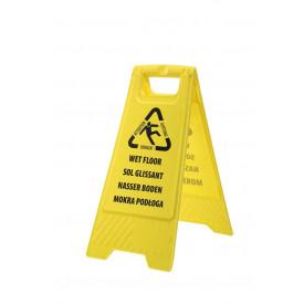 Segnale avvertimento pavimento bagnato